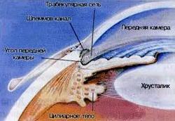 Пигментная глаукома классификация